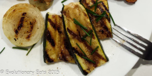 Grilled Onions and Zucchini