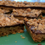 Aunt Mary's Toffee Squares